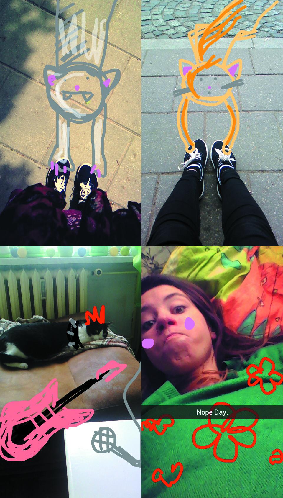 Snapchat-kolorowanie