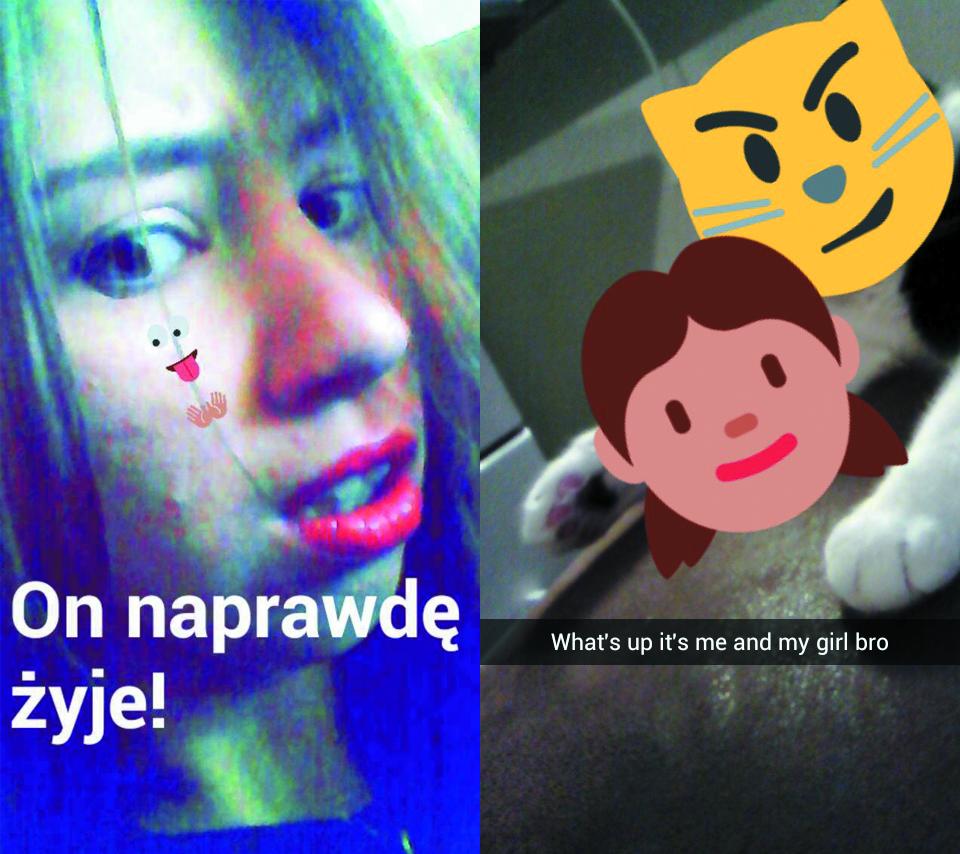 Snapchat-minki