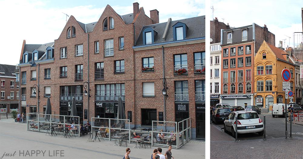4 ceglane budynki
