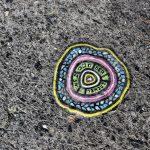 ARTYSTYCZNY LONDYN- wyplute gumy dziełem sztuki