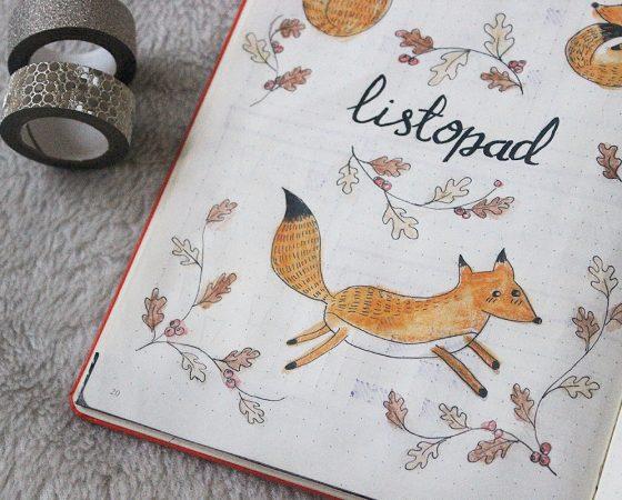 Bullet journal na Listopad- INSPIRACJE