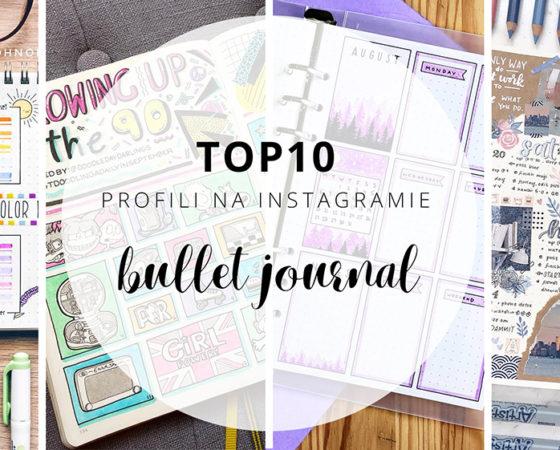 10 inspirujących profili na Instagramie – BULLET JOURNAL