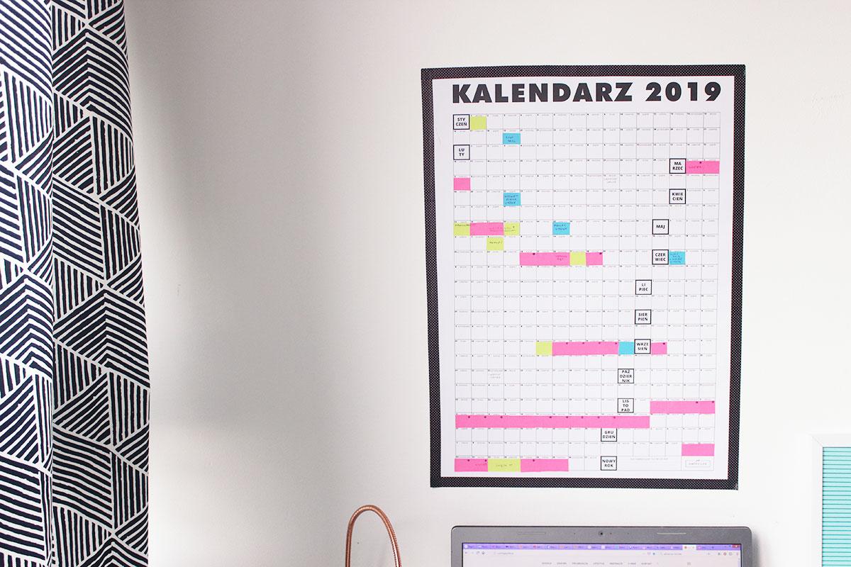 kalendarz roczny 2019