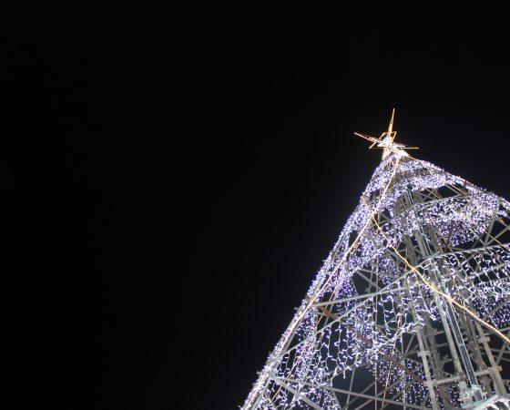 Świąteczny klimat Lizbony- zdjęcia nocą